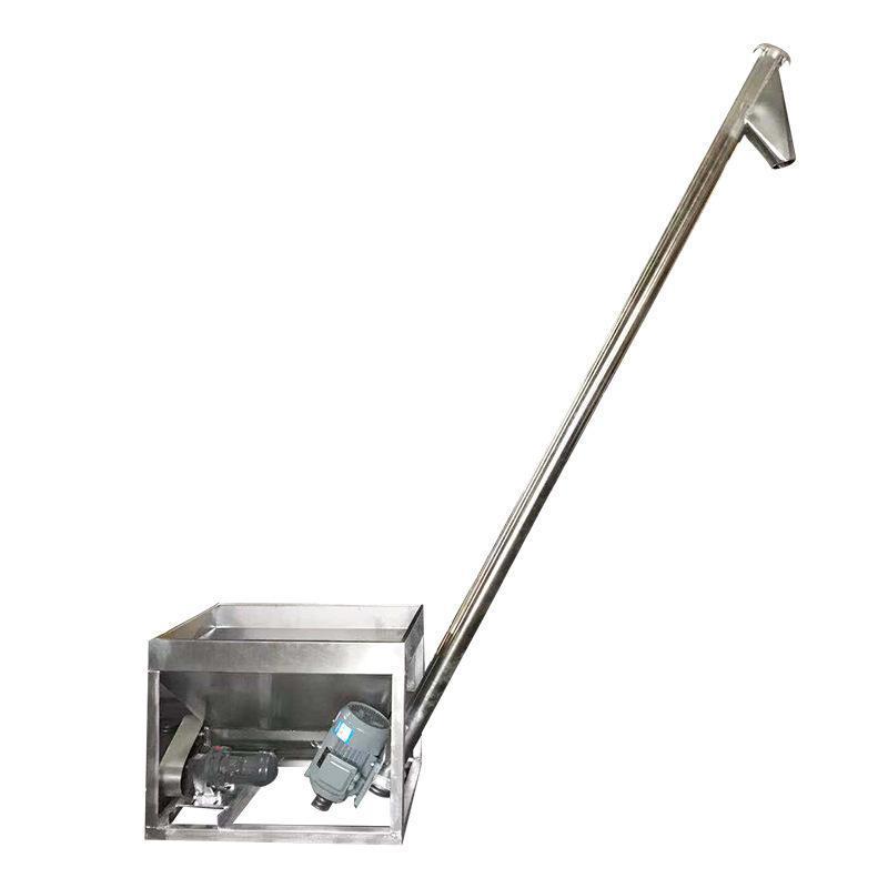 定制螺旋上料机 粉料颗粒输送机小型管式输送上料机可移动上料机