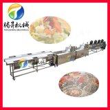 定制型果蔬加工生产线  食品蔬菜风干线