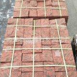 将军红蘑菇石灰色蘑菇石价格低河北花岗岩石材红色锈石蘑菇砖