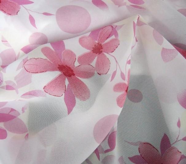 雪纺印花 服装面料 夏季