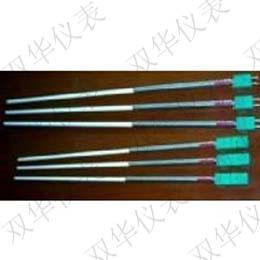 刚玉管扁插式钨铼热电偶 WRe5/26-130