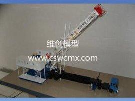 液压挖掘机模型 变幅绞车模型