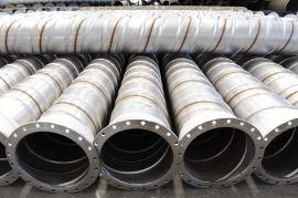 青科恒安瓦斯管 不锈钢加强筋螺旋焊管 不锈钢瓦斯管定制