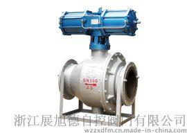 温州厂家直销ZXDA,气动卸灰球阀,Q647MF耐磨气动球阀,气动喷煤粉球阀