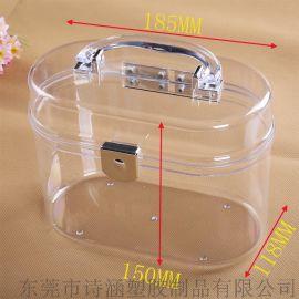 供应 百年老盒SH-6441# 韩版塑料手提盒 发饰品塑料手提盒