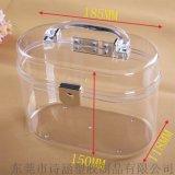 供應 百年老盒SH-6441# 韓版塑料手提盒 髮飾品塑料手提盒