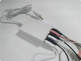 過安規認證5V8A 6口 USB電源適配器 新款認證電源適配器 充電器