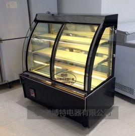 前开门熟食保鲜柜风冷蛋糕柜温度要求多少定做一台蛋糕柜价格保鲜柜定做尺寸