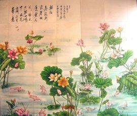 北京上海重庆陶瓷画瓷砖画彩瓷板画定做!