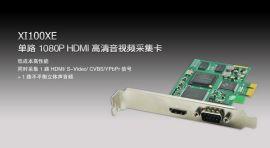 XI100XE单路1080P HDMI 高清采集卡 视频会议