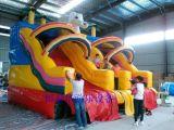 大型充气水滑梯大象水滑梯厂家订制水上充气玩具充气水池大型游泳池