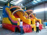 大型充氣水滑梯大象水滑梯廠家訂制水上充氣玩具充氣水池大型遊泳池