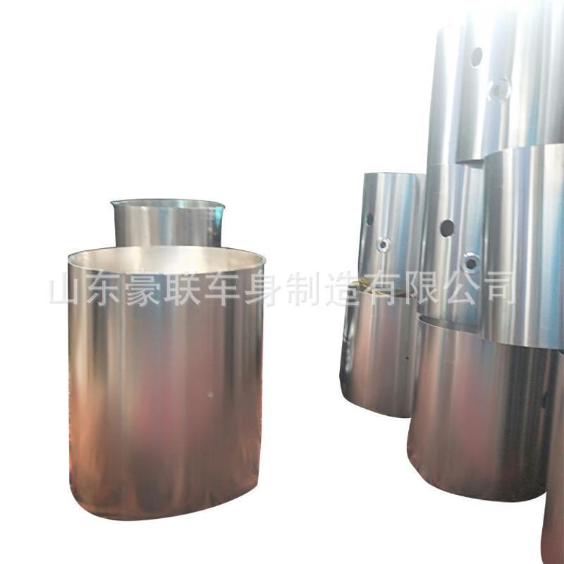 重汽豪沃T7H油箱总成 豪沃铝合金油箱 油箱支架 油箱浮子 图片