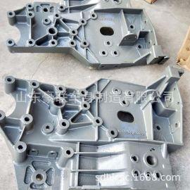重汽HOWOT7H低位保險槓支架WG9925930466 大樑頭保險槓託架