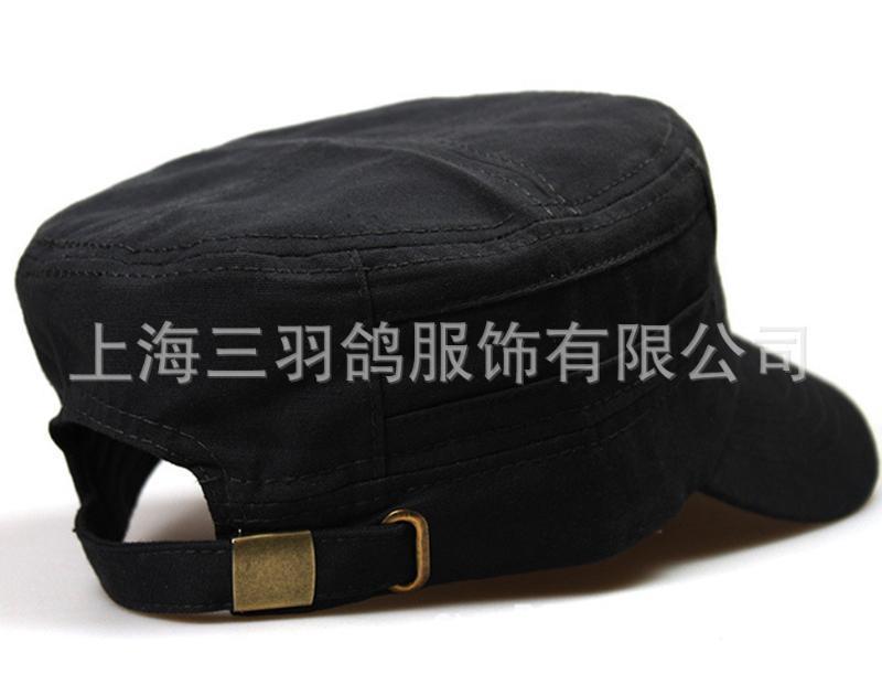 户外用品男士军帽平顶帽子鸭舌帽潮男女款登山帽休闲摄影帽子防晒