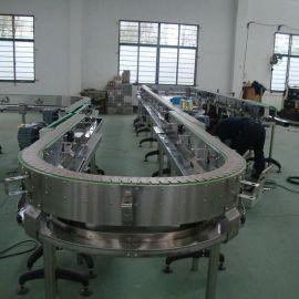 塑料网带输送机 食品网链输送线 塑料模块网链输送机 食品网带流水线厂家直销