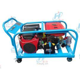 300mm下水管道高压清洗机, 移动式汽油高压清洗机 宏兴牌