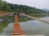 水上拓展器械-吊索桥-鑫狮拓展水上训练项目