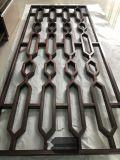 空心管材点焊拼接仿铜不锈钢屏风新款推荐