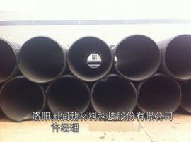 钢带增强管报价, 河南增强型钢带聚乙烯螺旋波纹管