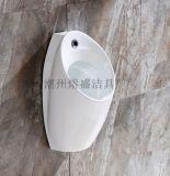 卫浴挂墙地排陶瓷男士自动感应小便斗小便池