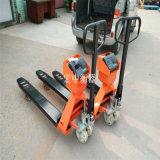 广西北海2吨电子叉车秤 用于车间产品称重移动