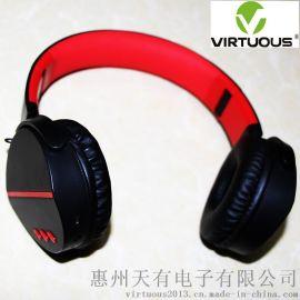 BT003 4.2折叠便携式无线蓝牙头戴重低音耳机
