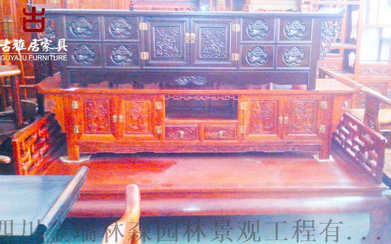 兴义古典家具中式藏式家具展示柜 博古架定制加工