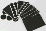 3M橡胶垫 防滑橡胶脚垫 圆形自粘橡胶垫 网格橡胶脚垫 黑色橡胶垫