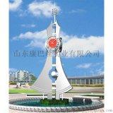 康巴絲定製大型藝術雕塑鍾,簡約觀景鍾kts-A177