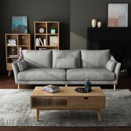 北歐宜家小戶型家具現代簡約三人雙人單人位客廳沙發