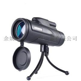 新款12X50高倍高清单筒望远镜可连手机拍照