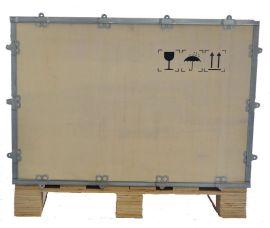无锡**阴常州胶合板木材木箱 水泵机器包装木箱 免熏蒸出口胶合板包装箱