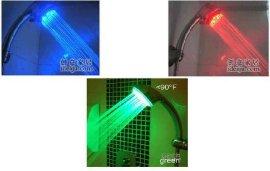 LED温控淋浴花洒