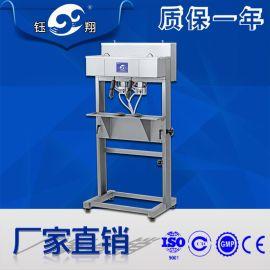 双头香水花露水灌装机 气动液体密封等压机 小型液体定量半自动机