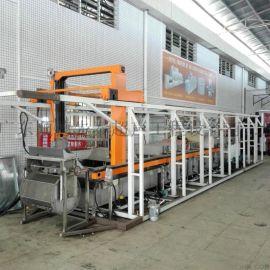 全自动机械手超声波清洗机 电容器外壳全自动机械臂清洗机 生产厂家