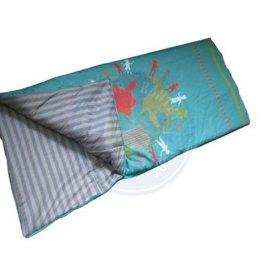 厂家供应印花定型棉学生睡袋 午休睡袋 休闲睡袋