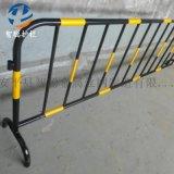 城市施工临时护栏 可移动临时栏杆 商场铁马护栏