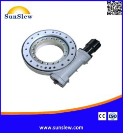 SunSlew江阴尚驰蜗轮蜗杆减速器 SD12-78B-BRH回转驱动机构 回转驱动