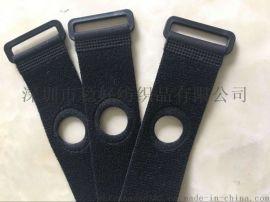 厂家供应魔术贴手表绑带 尼龙带扣魔术贴绑带  38MM电池理线带
