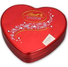 供**心巧克力铁盒 巧克力礼品包装盒专业定制