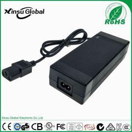43.8V2.5A 3A铁锂电池充电器 43.8V3A 德国TUV GS认证 38.4V2.5A磷酸铁锂电池充电器