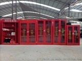 消防箱 消防器材 微型消防站备柜厂家定制