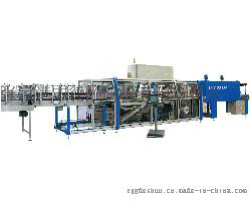 厂家自动热缩机 直进料袖口式热收缩包装机