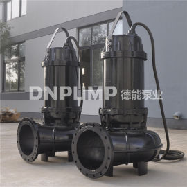 140KW潜水排污泵耦合式安装
