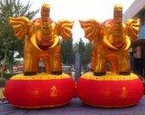 金色充氣大象 4米金象氣模 開業金象充氣模型