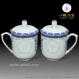高档手绘玲珑茶杯批发定做 高档手绘玲珑茶杯定制款式
