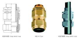 防爆格兰DQM-VII 防爆填料函,防爆电缆密封接头,防爆铠装接头