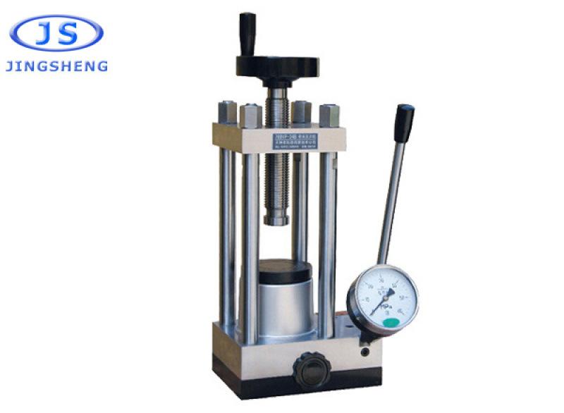 上海精胜769YP-24B手动粉末压片机24吨小型油压机 陶瓷粉末压样机