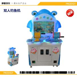 儿童益智游戏机 钓鱼机 儿童乐园电玩设备